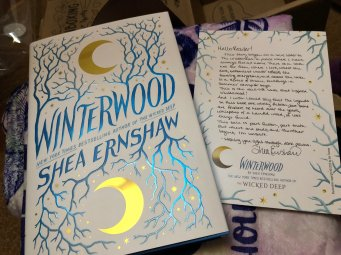 Winterwood by Shea Ernshaw and Letter