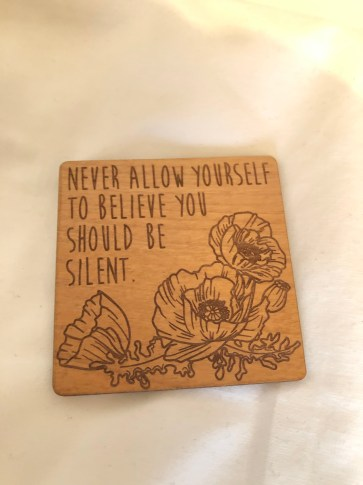 Wooden Magnet created by Juniper and Ivy Designs