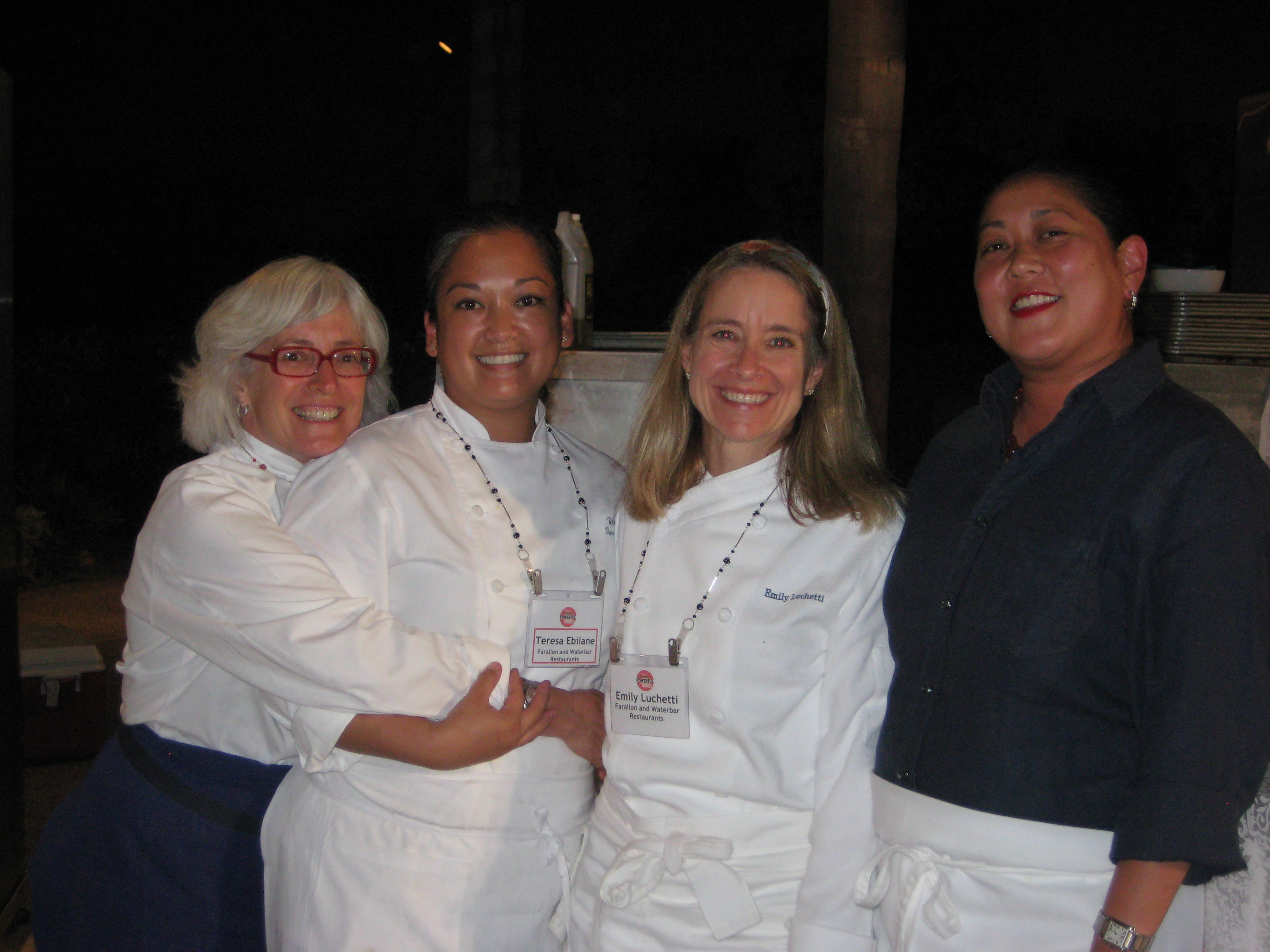 Cindy, Theresa, Emily and Noreen