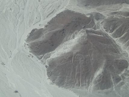 Astronaut Nazca Line