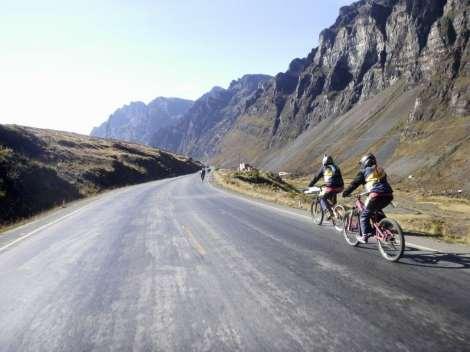 Death Road Altitude Photos