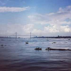 Bridge at My Tho, Mekong Delta