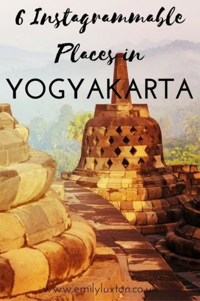 Six Instagrammable Places to Visit in Yogyakarta