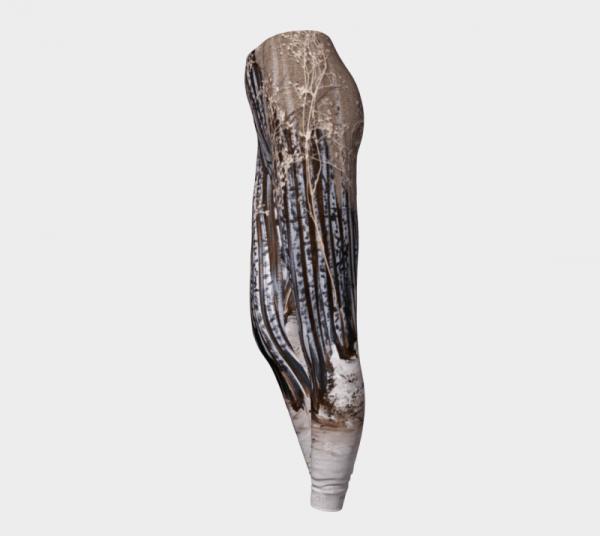 Printed Leggings, Contour Leggings, Tree Leggings