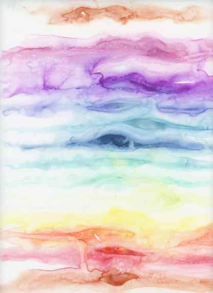 watercolor rainbow, healing art, rainbow art