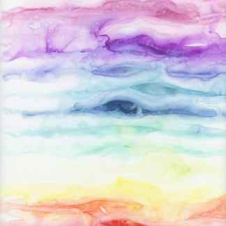 watercolor rainbow, healing art, rainbow art