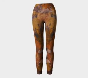 Fall Print, Autumn Print, Fall Leggings