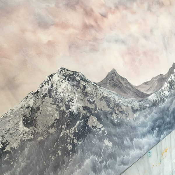 Nature Wall Art by Emily Magone mountains