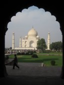 The Taj Mahal, India 2008