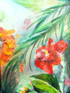 """Flower Fetish II"" c. 2007 - Oil on Canvas - 11x14 - Private Collection"