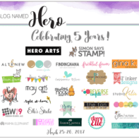 A Blog Named Hero Anniversary Blog Hop!