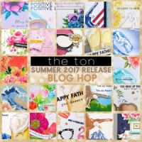 The Ton Stamps Summer Release Blog Hop!