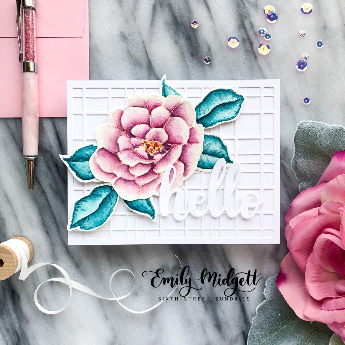Altenew July 2018 Stamp & Die Release+ GIVEAWAY!
