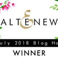 Altenew Stamp and Die Blog Hop Giveaway Winner!