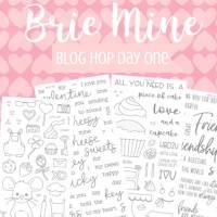 Honey Bee Stamps Brie Mine Blog Hop!