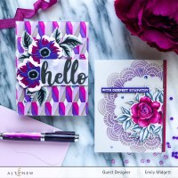 Altenew July Stencil Release Blog Hop+ Giveaway!