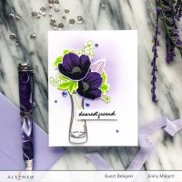 Altenew Build A Flower Hellebore Blog Hop+Giveaway!