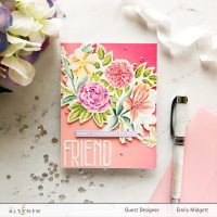 Altenew February 2020 Stamp+Die+Watercolor Blog Hop+Giveaway!