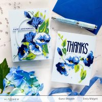 Altenew Craft A Flower Morning Glory blog hop+giveaway