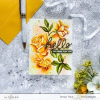 Altenew Watercolor Coloring Book Release Blog Hop + Giveaway!