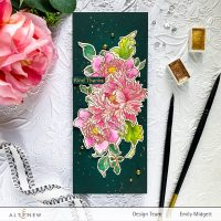 "Altenew 8""x11"" Majestic Bouquet Stamp Set Release Blog Hop + Giveaway"