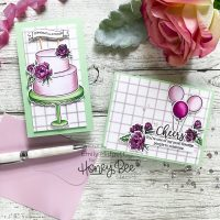 Honey Bee Stamps Let's Celebrate Release!