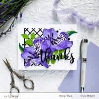 Altenew Craft A Flower: Peruvian Lily Blog Hop + Giveaway!