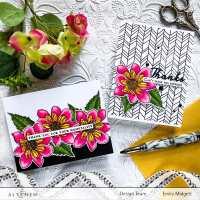 Altenew Build A Flower-Fashion Monger Dahlia Blog Hop + Giveaway!