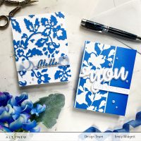 Altenew Plentiful Patterns Stand-alone Dies/Stencils Collection Release Blog Hop + Giveaway ($300 in total prizes)
