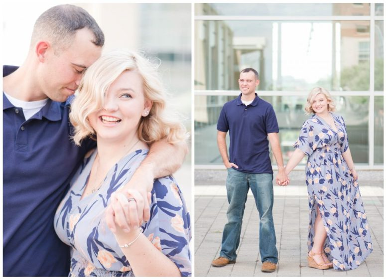 Downtown Raleigh Anniversary Session by Emily Moore