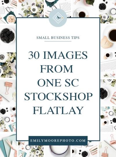 30 Images From 1 SC Stockshop Desktop Flatlay