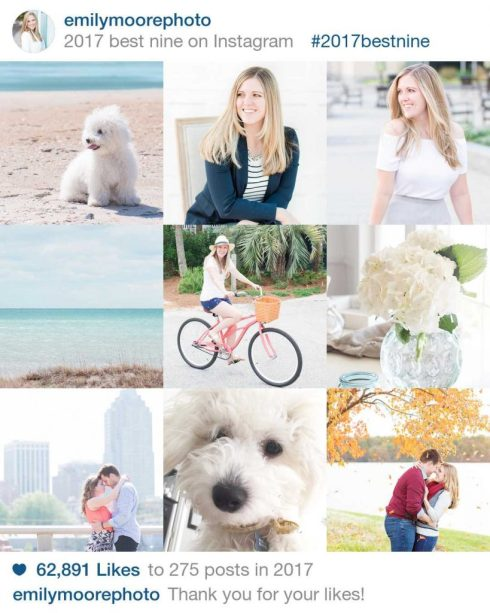 Instagram Best of Nine 2017 | emilymoorephoto | Emily Moore | Boutique Photo Editing | Private Photo Editor