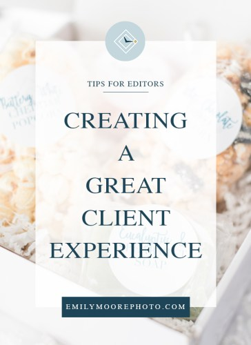 Creating a Great Client Experience | Gift Boxes from Love, Virginia | Emily Moore