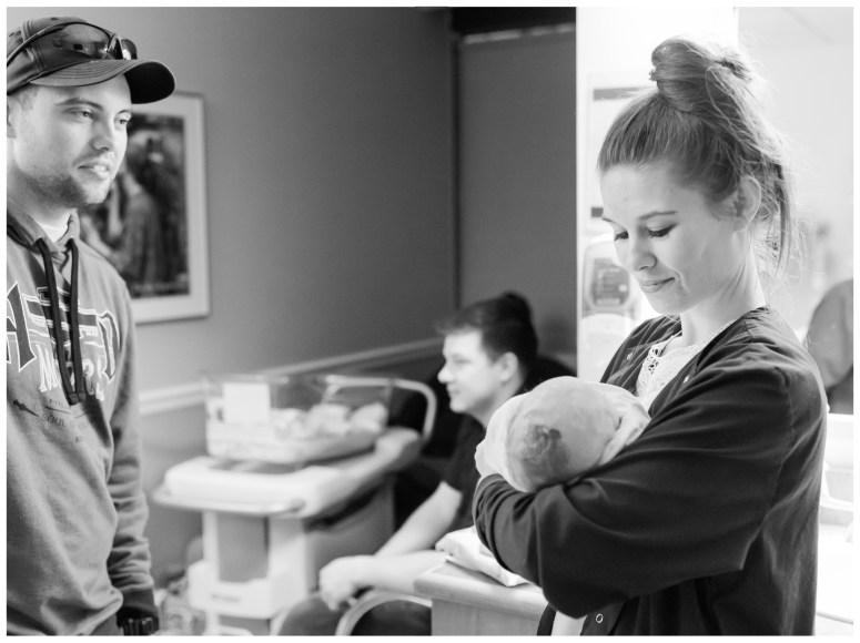 Newborn Hospital Session | Emily Moore | Private Photo Editor