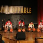Basketball stomp routine for talent show