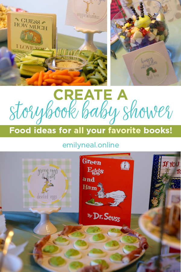 Food ideas for storybook baby shower
