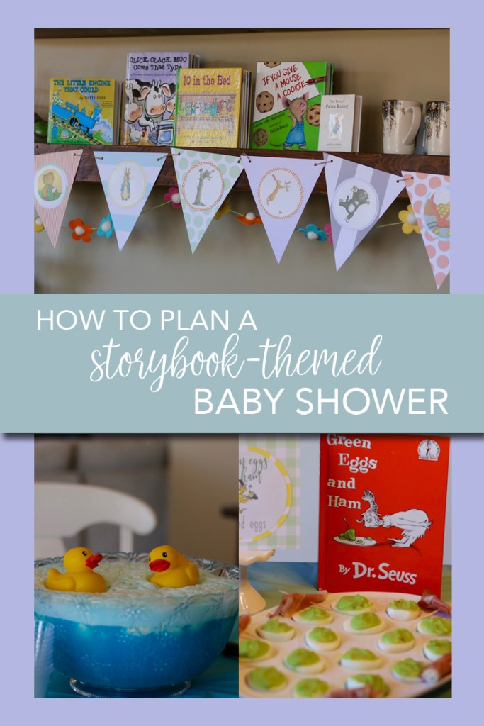 How to plan a storybook themed baby shower