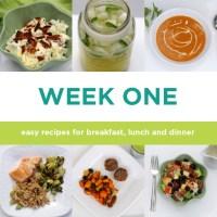 Four-week Paleo Meal plan: Week One