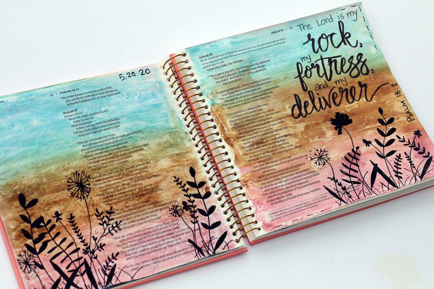 Five reasons I love Bible journaling