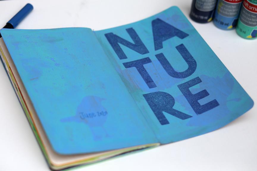 My June art journal