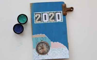 Reflecting on 2020 in my art journal