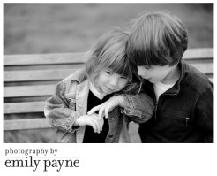 Brother and Sister, Fun Portraits in the Studio and at the Park!