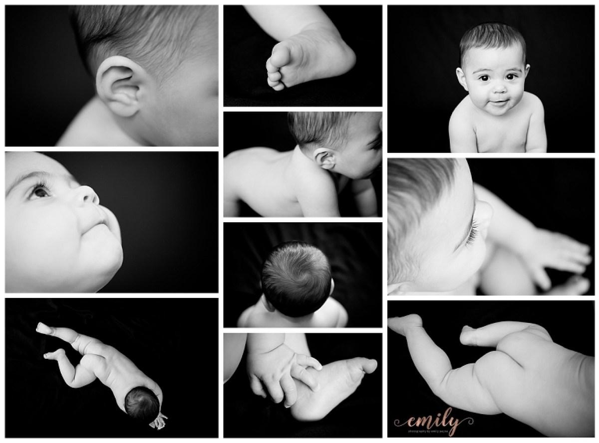Baby Milestones Photography by Emily Payne