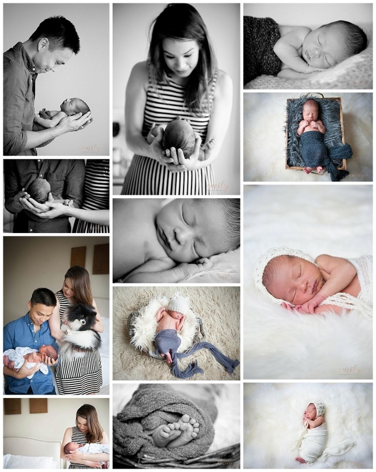 newborn photography by emily payne