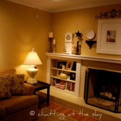 Living Room Fireplace Off Centered White Cabinet For In Which I Ask Your Advice Emily P Freeman 2