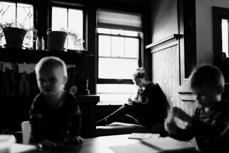 Photo of Emily P.G. Erickson by Jessica Holleque