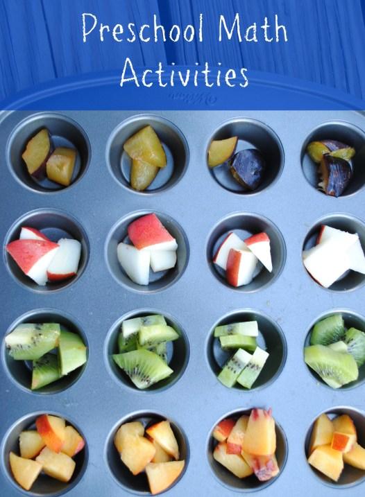 Preschool Math Activities