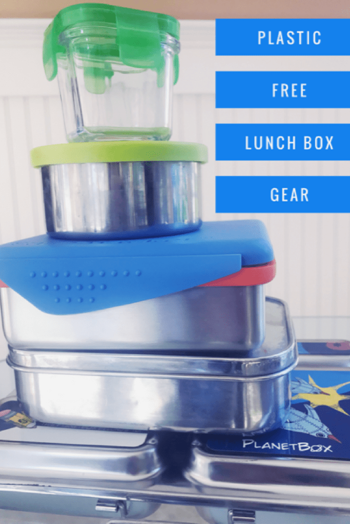 plastic free lunch box for kids containers in stainless steel and glass