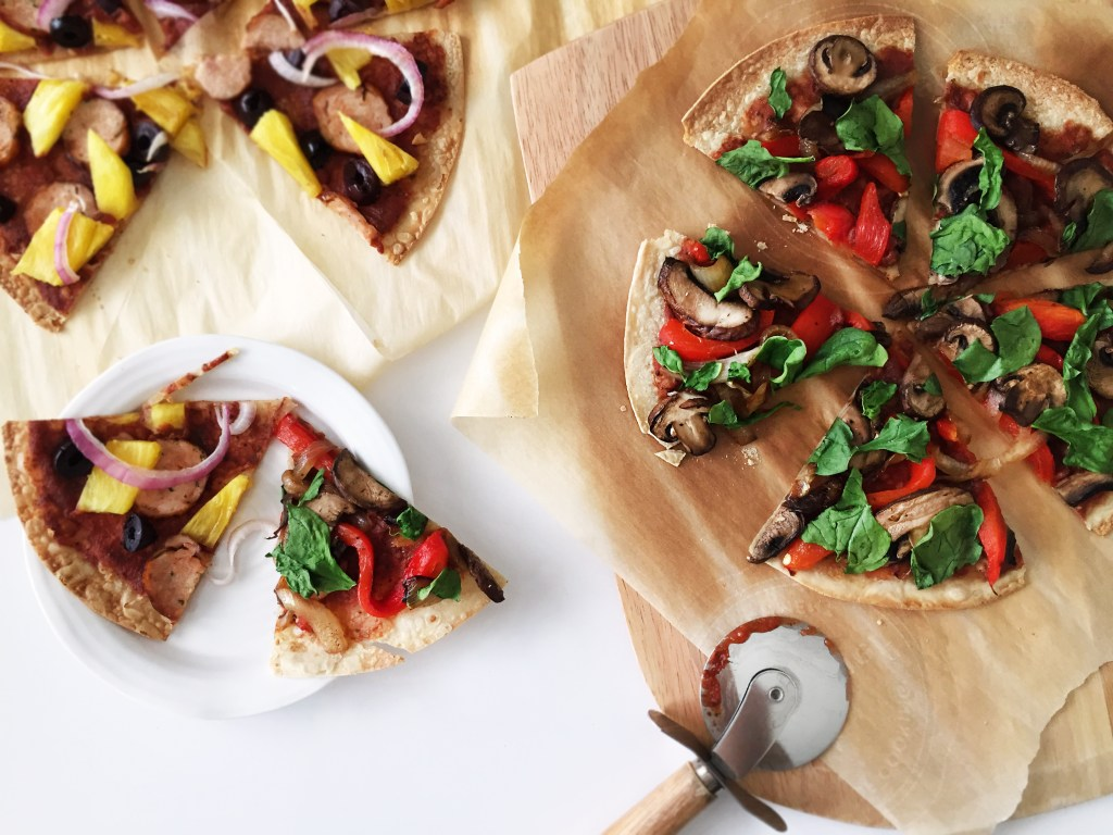 DIY Pizza Family Favorites