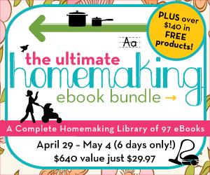 Ultimate Homemaking ebooks